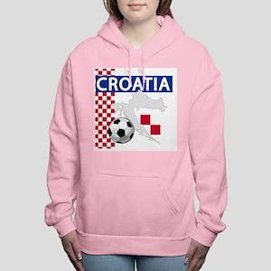 croatia-futballC Women's Hooded Sweatshirt