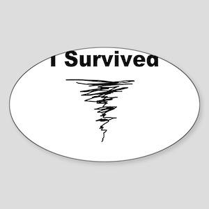 survived Sticker (Oval)