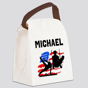 GYMNASTICS CHAMP Canvas Lunch Bag