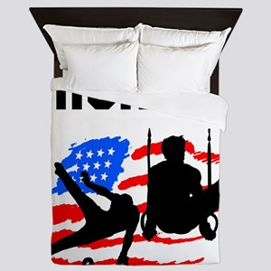 GYMNASTICS CHAMP Queen Duvet