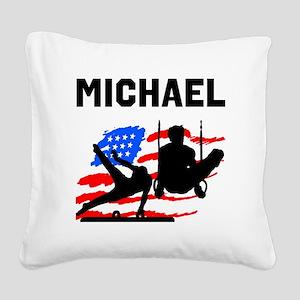 GYMNASTICS CHAMP Square Canvas Pillow