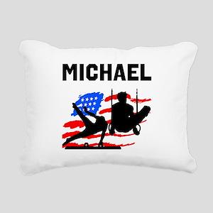 GYMNASTICS CHAMP Rectangular Canvas Pillow