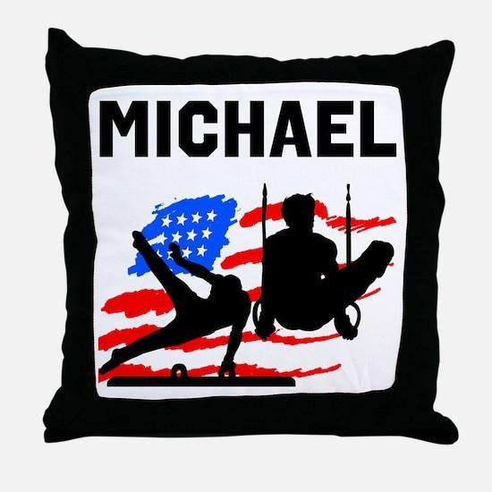 GYMNASTICS CHAMP Throw Pillow