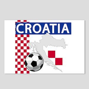 croatia-futballC Postcards (Package of 8)