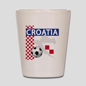 croatia-futballC Shot Glass