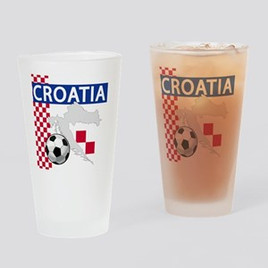 croatia-futballC Drinking Glass