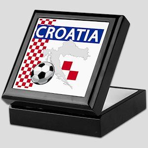 croatia-futballC Keepsake Box