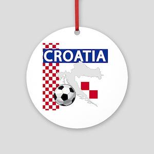 croatia-futballC Ornament (Round)