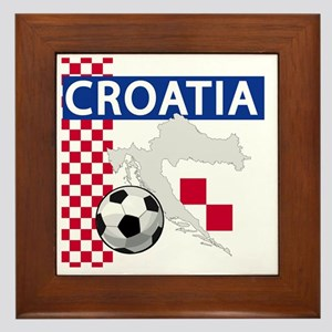 croatia-futballC Framed Tile