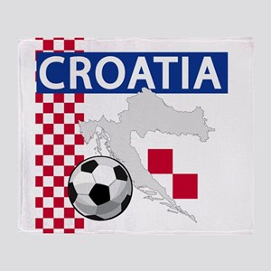 croatia-futballC Throw Blanket