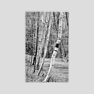 Birch Sentinels 3'x5' Area Rug