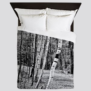 Birch Sentinels Queen Duvet