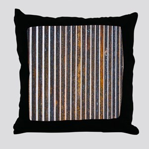 Barred Throw Pillow