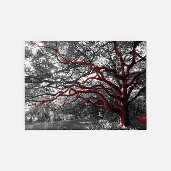 Photo Tree Branch 5'x7' Area 5'x7'area Rug