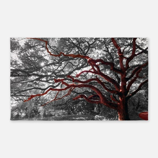 """Photo Tree Branch 3'x5' Area Rug-""""The Growth&"""