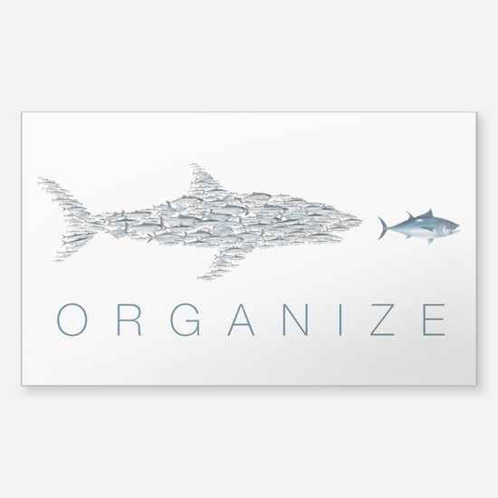 Organize Fish Decal