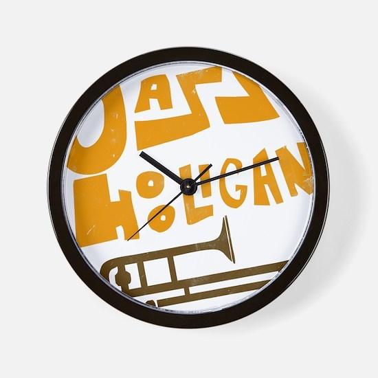 jazz_hooligan.png Wall Clock