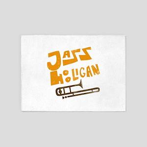 jazz_hooligan 5'x7'Area Rug
