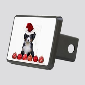 Christmas Bernese Mountain Dog Hitch Cover