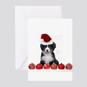 christmas bernese mountain dog greeting cards - Dog Greeting Cards