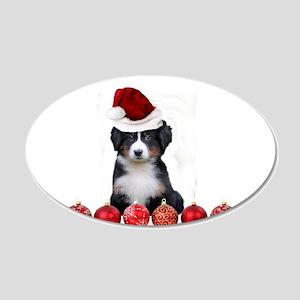 Christmas Bernese Mountain Dog Wall Decal