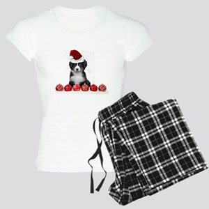 Christmas Bernese Mountain Dog Pajamas