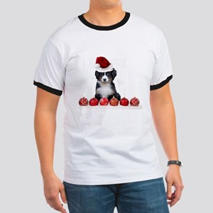 Christmas Bernese Mountain Dog T-Shirt