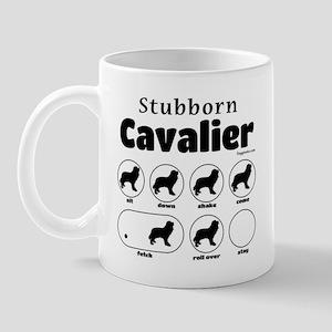 Stubborn Cavalier v2 Mug
