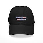 Where's The Fence Black Cap