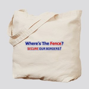 Where's The Fence Tote Bag