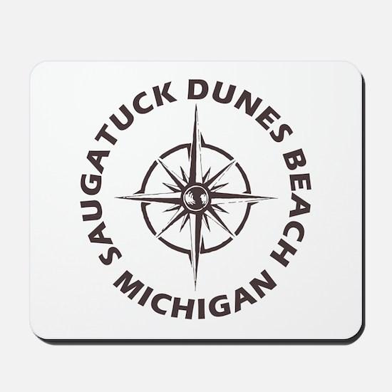 Michigan - Saugatuck Dunes Beach Mousepad