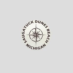 Michigan - Saugatuck Dunes Beach Mini Button