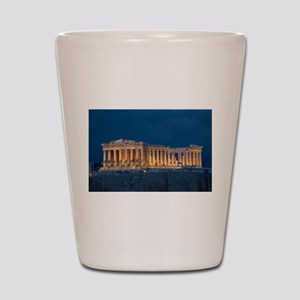 Parthenon Shot Glass