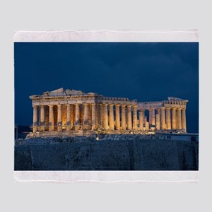 Parthenon Throw Blanket