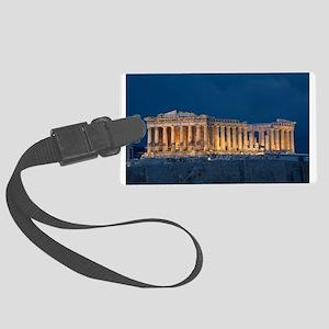 Parthenon Luggage Tag