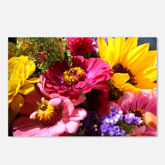 Bouquet Postcards (Package of 8)