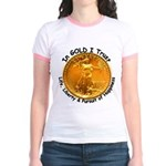 Gold Liberty 4 Jr. Ringer T-Shirt