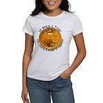 Gold Liberty 4 Women's T-Shirt