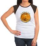 Gold Liberty 4 Women's Cap Sleeve T-Shirt
