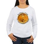 Gold Liberty 4 Women's Long Sleeve T-Shirt
