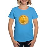 Gold Liberty 4 Women's Dark T-Shirt