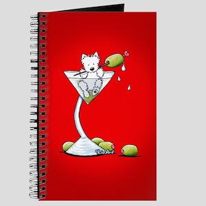 KiniArt Westie Martini Journal