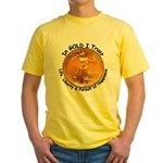 Gold Liberty 4 Yellow T-Shirt