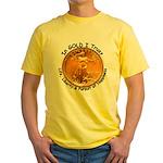 Gold Liberty 4 Yellow T-Shirt