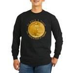 Gold Liberty 4 Long Sleeve Dark T-Shirt