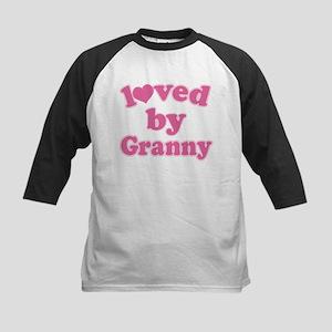 Loved By Granny Kids Baseball Jersey