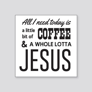 All I Need Today Is a Little Bit of Coffee & a Who