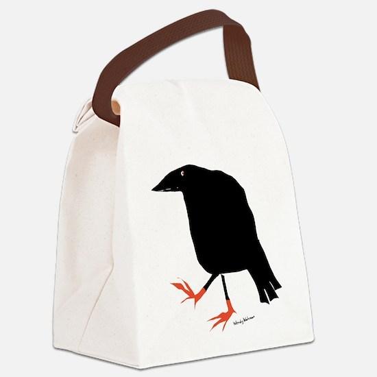 Cute Birds Canvas Lunch Bag
