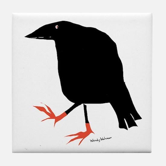 Unique Blackbird Tile Coaster