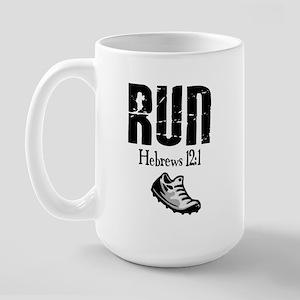 Hebrews Run Large Mug